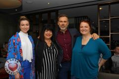 Pictured at the Limerick Pride 2019 Press Launch at the Clayton Hotel are Meghann Scully, Riverpoint, Valerie Dolan, Dock Road, Richard Lynch, I Love Limerick and Orla Clancy, Ballingarry. Picture: Orla McLaughlin/ilovelimerick.