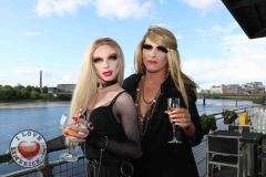 Pictured at the Limerick Pride 2019 Press Launch at the Clayton Hotel are Karma Monet and Noah Monet, city centre. Picture: Orla McLaughlin/ilovelimerick.