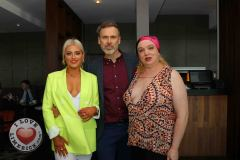 Pictured at the Limerick Pride 2019 Press Launch at the Clayton Hotel are Michelle Grimes, Coonagh, Richard Lynch, I Love Limerick and Maite Logia, city centre. Picture: Orla McLaughlin/ilovelimerick.