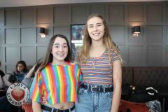 Pictured at the Limerick Pride 2019 Press Launch at the Clayton Hotel are Kiera Ryan and Claire ODowd, Ballyclough. Picture: Orla McLaughlin/ilovelimerick.
