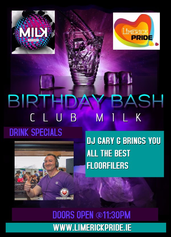 BIRTHDAY BASH CLUB MILK 2016