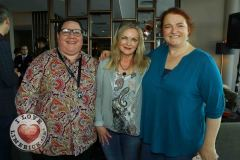 Pictured at the Limerick Pride 2019 Press Launch at the Clayton Hotel are Leona Long, Janesboro, Jennifer Mc Philemy, Corbally, and Orla Clancy Ballingarry. Picture: Conor Owens/ilovelimerick