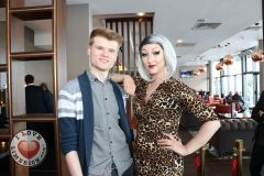 Pictured at the Limerick Pride 2019 Press Launch at the Clayton Hotel are Sean Lynch and Sarah Tonin, Castletroy. Picture: Orla McLaughlin/ilovelimerick.