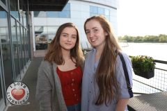 Pictured at the Limerick Pride 2019 Press Launch at the Clayton Hotel are Sinead Fitzgibbon, Rathkeale, and Chloe Reidy, Castletroy. Picture: Orla McLaughlin/ilovelimerick.