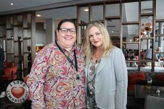 Pictured at the Limerick Pride 2019 Press Launch at the Clayton Hotel are Leona Long, Janesboro, and Jennifer Mc Philemy, Corbally. Picture: Orla McLaughlin/ilovelimerick.