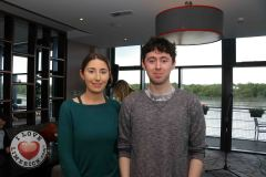 Pictured at the Limerick Pride 2019 Press Launch at the Clayton Hotel are Eoghan Daly, Castletroy and Katie O'Connor, Croagh. Picture: Orla McLaughlin/ilovelimerick.